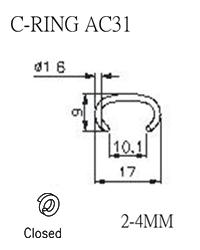 C-RING AC31